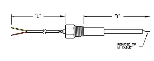 Turbine Hot Exhaust Duct Sensor